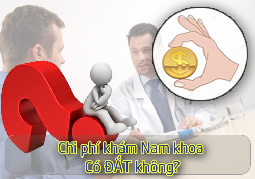 Chi phí khám nam khoa có đắt không