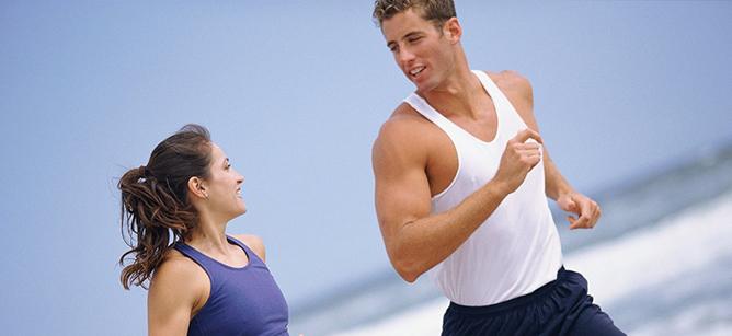 Luyện tập thể thao, ăn uống đủ chất giúp giảm nguy cơ liệt dương