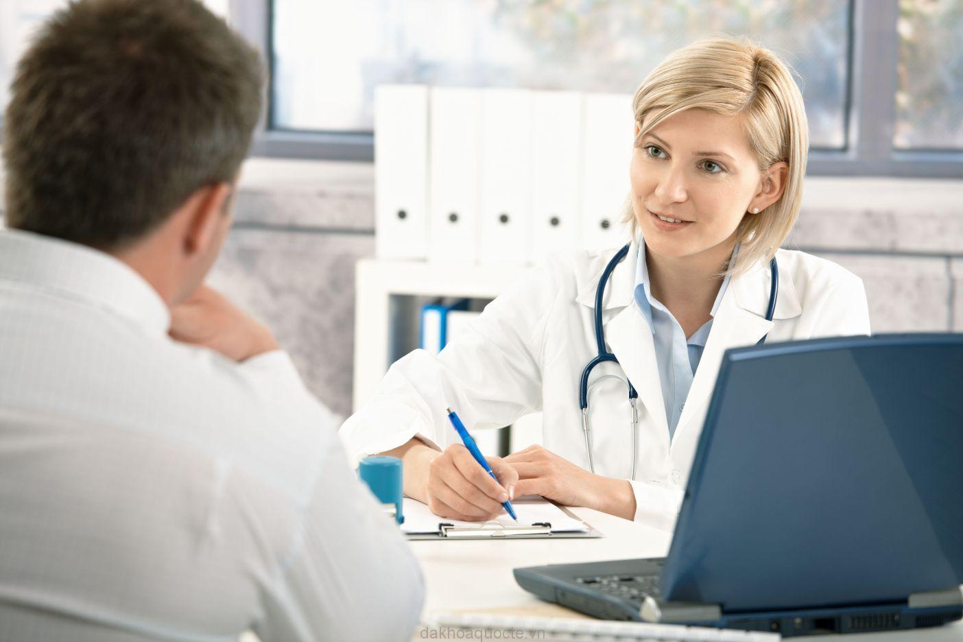 Giai đoạn thăm khám ban đầu rất quan trọng trong phác đồ điều trị bệnh liệt dương