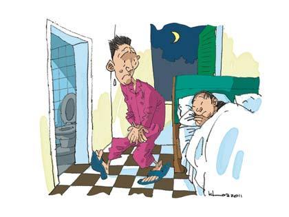 Nam giới bước vào độ tuổi trung niên thường bị đái buốt đi đi đái nhiều lần
