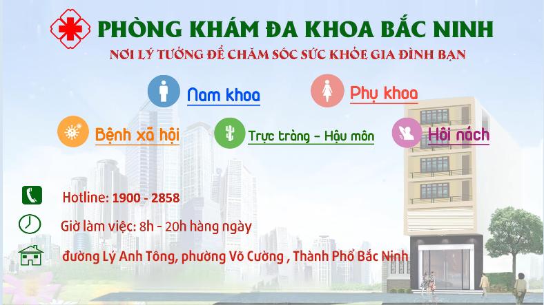Bệnh viện nam khoa uy tín tại Bắc Ninh
