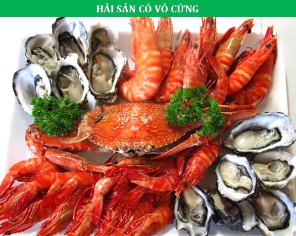 Các loại hải sản cung cấp nhiều dưỡng chất tốt