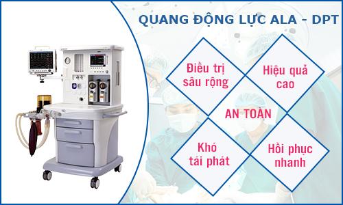 Công nghệ điều trị quang động lực ALA - PDT