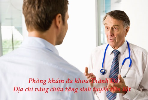 Phòng khám đa khoa Thành Đô - Giải pháp vàng điều trị tăng sinh tuyến tiền liệt2